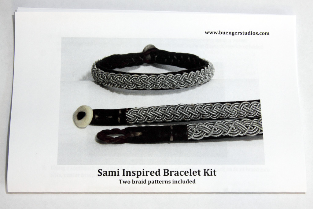 instructions for all tin sami bracelet kit
