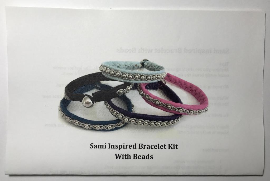 Sami Inspired Beaded Bracelet Kit Buenger Studios